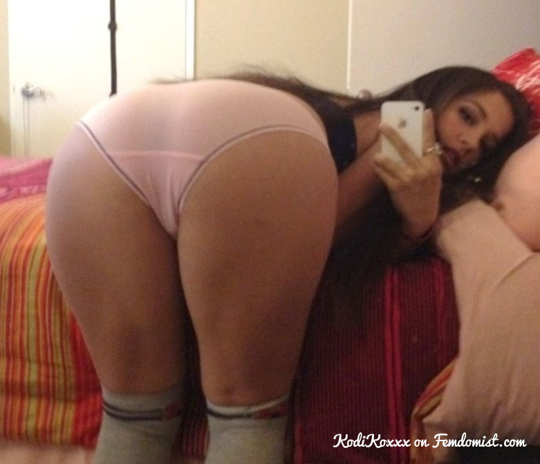 Mistress enjoying ass worship.
